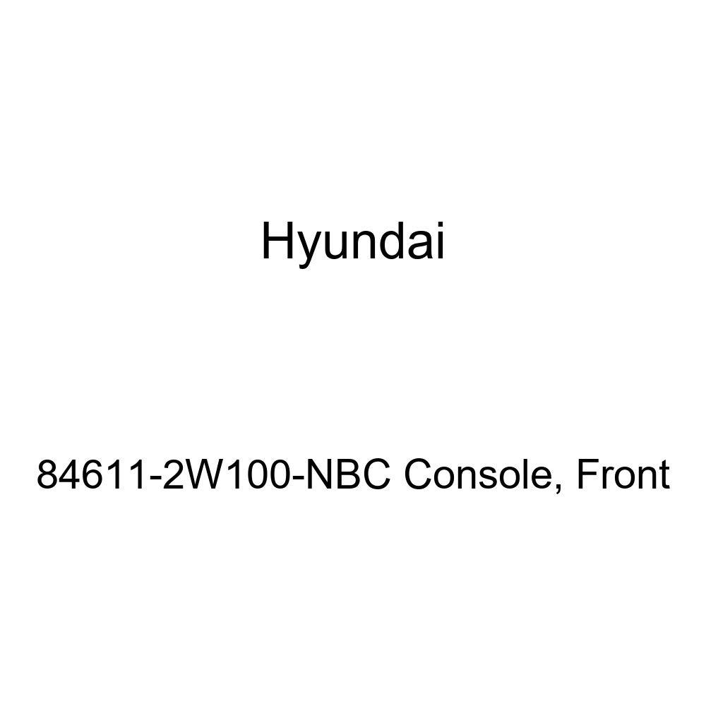 Front Genuine Hyundai 84611-2W100-NBC Console