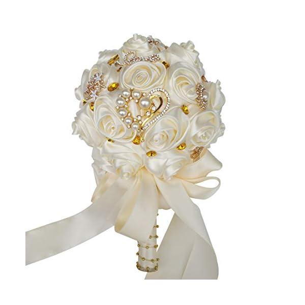 HORHIN-Handmade-Wedding-Bouquet-Crystal-Pearl-Silk-Roses-Rhinestone-Bridal-Bridesmaid-Wedding-Hand-Bouquet-Artificial-Flowers-Ivory