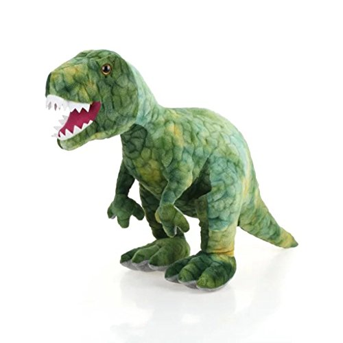 AIXINI Stuffed Dinosaur Plush Toy - 31.5 Long Realistic Stuffed Animal Toy for Boy Girls Kids and Toddlers, Green
