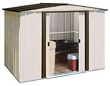 Arrow Newburgh Steel Storage Shed, 8 By 6 Feet