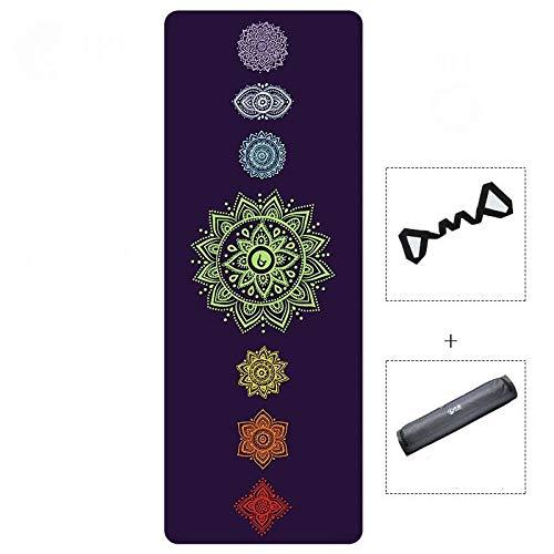 LXMBox Esterilla de Yoga Antideslizante, Estera de Yoga ...