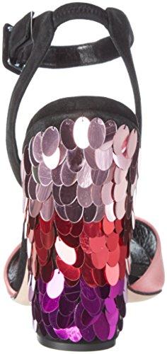 Sebastian S7308, Sandali con Tacco Donna multicolore
