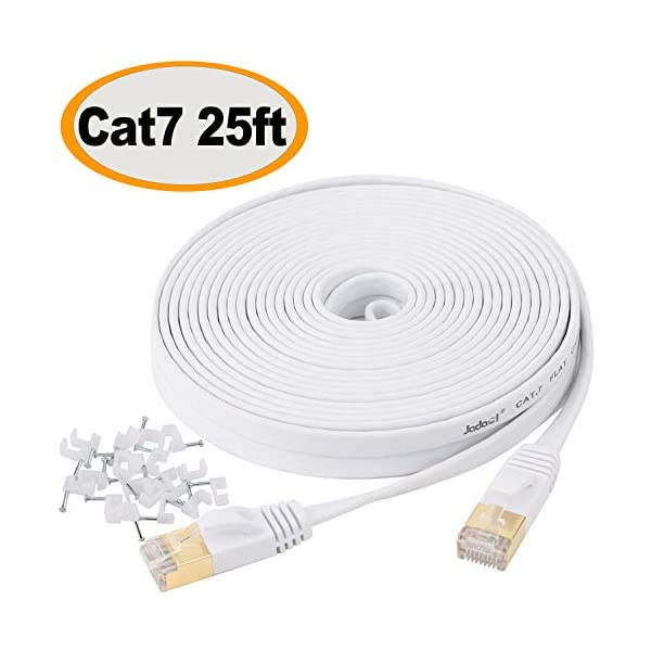Grey 75 Feet Cat5e 75FT Networking RJ45 Ethernet Patch Cable for PC Modem PS4 Router
