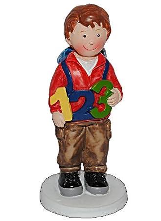 Belldessa 3 D Figur Junge Mit Rucksack 9 5 Cm Schultute Zuckertute