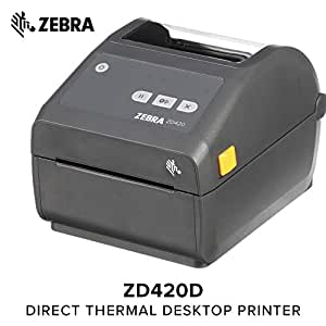 Amazon.com: Zebra - ZD420d Direct Thermal Desktop Printer ...