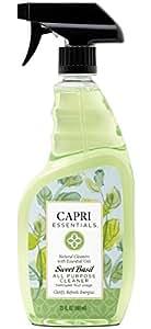 Capri Essentials 832082 Sweet Basil All Purpose Cleaner