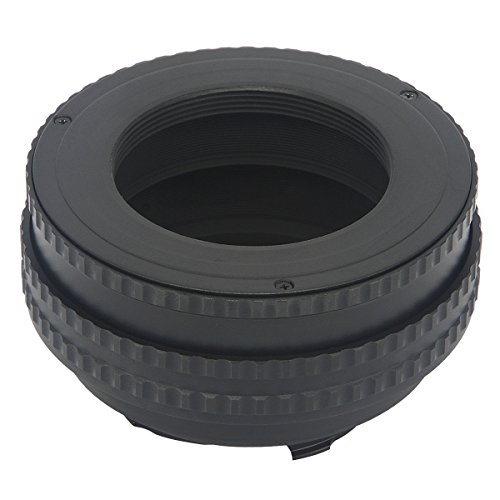 Haoge Macro Focus Lens Mount Adapter Built-in Focusing Helicoid for M42 42mm Screw mount Lens to Leica M LM mount Camera such as M240, M262, M6, MP, M7, M8, M9, M9-P, M-E, M, M-P, M10, M-A 17mm-31mm