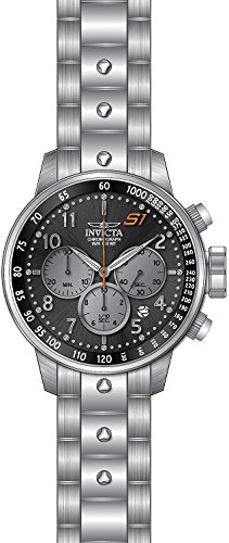 Invicta Men's 'S1 Rally' Quartz Stainless Steel Casual Watch, Color:Silver-Toned (Model: 23084)