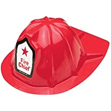 US TOY GROUP LLC -Kids Firefighter Helmets, Plastic, (1-Pack of 12)