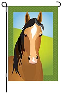 Premier Kites 51584 Garden Brilliance Flag, Silly Filly, 12 by 18-Inch