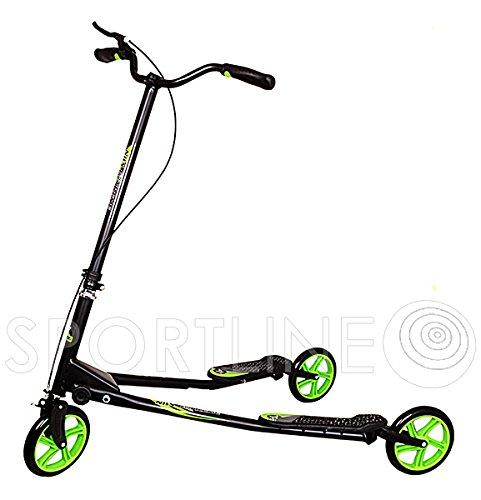 Scooter Roller Tretroller Cityroller Kinderroller Abec7 Fliker 121 x 63 cm Nils Extreme
