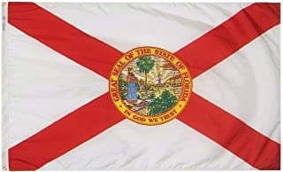 product image for All Star Flags 3x5' Florida Heavy Weight Nylon Flag from