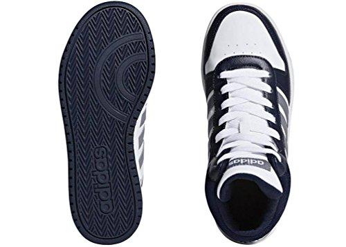 Adulto K Hoops Unisex Mid 0 000 Gritre Maruni Ftwbla Blanco de Deporte 2 adidas Zapatillas TzRqZpqn