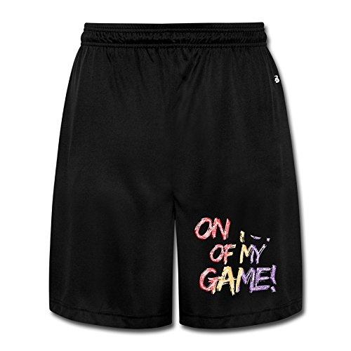DCM500 Men's On Of My Game Training Pants Black Size XL (Peat Moss Apparel)