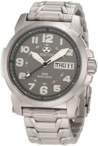 REACTOR Men s 68010 Atom Analog Watch