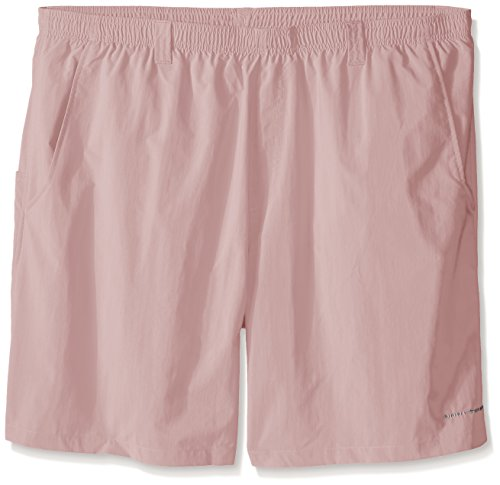 7514daf813 Columbia Men's Backcast II Printed Shorts, Sunset Red Tiki Texture ...