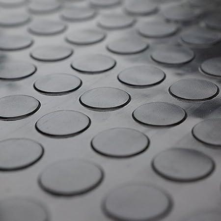 4m/² Noppenmatte 1,50m x 2,67m Farbe: schwarz St/ärke: 4,5mm
