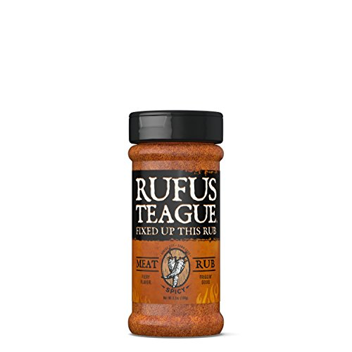 Rufus Teague - Spicy Meat Rub 6.5 Ounce. Kick-up the Heat wi