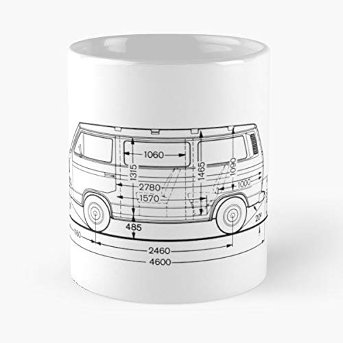 (Vw T3 T25 - Gift Father Day Coffee Mug)