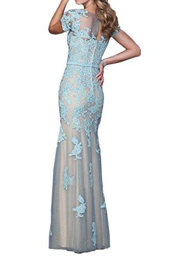 LaMarie Braut Himmel Blau Spitze Brautmutterkleider Abendkleider ...