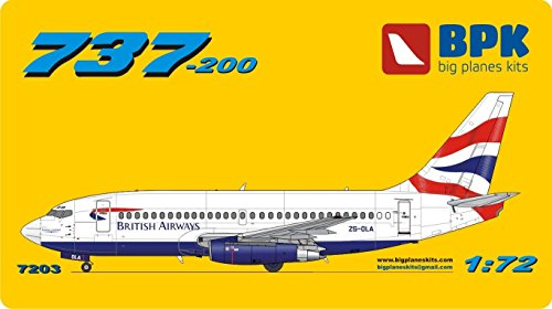 AIRCRAFT Boeing 737-200 British Airways - 1/72 BPK ()