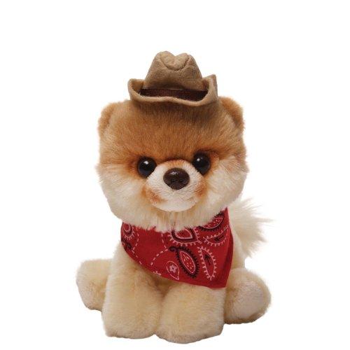 Gund Boo Plush in a Cowboy Hat ()