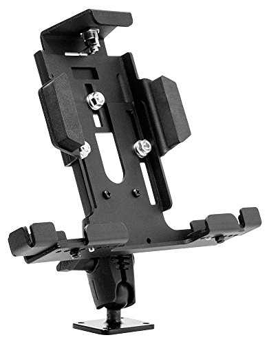 (Arkon Locking Adjustable Tablet Mount with Key Lock for E-Log for Galaxy Tab LG G Pad iPad Models Retail)