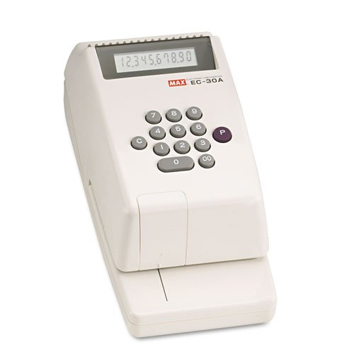 MXBEC30A - Max USA Corp Electronic Checkwriter