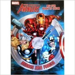 Read Online Marvel Avengers Heroes Join Forces Big Fun Book to Color ebook