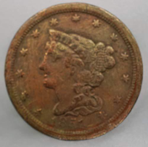 1851 Classic Head Half Cent 1/2¢ Good