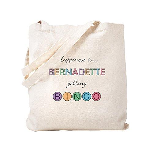 CafePress - Bernadette BINGO - Natural Canvas Tote Bag, Cloth Shopping Bag by CafePress