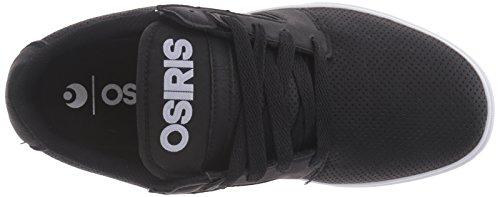 Osiris Mens Lumin Skate Shoe Black/Perforated