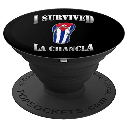 Funny Spanglish Spanish Cuban Cubano Joke Camisas Chistosas PopSockets Grip and Stand for Phones and Tablets