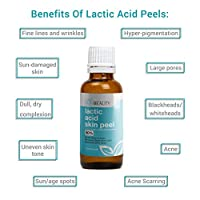 LACTIC Acid 70% Skin Chemical Peel- Alpha Hydroxy (AHA) For Acne, Skin Brightening, Wrinkles, Dry Skin, Age Spots, Uneven Skin Tone, Melasma & More (from Skin Beauty Solutions)