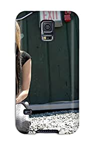 New Arrival Cover Case With Nice Design For Galaxy S5- Celebrity Avril Lavigne
