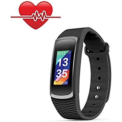 OOLIFENG Activity Wristband Fitness Tracker Watch With Calorie Counter Pedometer Watch For Kids Women And Men Estimated Price £43.72 -