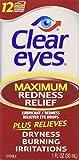 Clear Eyes Maximum Redness Relief Eye Drops - 1 oz
