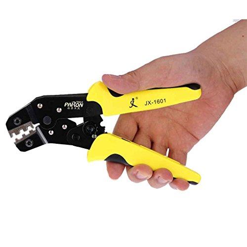 Fangfeen 4 en 1 Ingeniería de trinquete Que Prensa Terminal tenaza Crimper + Wire Herramientas Stripper + S2 screwdiver Wire Crimper Mano Kit: Amazon.es: ...