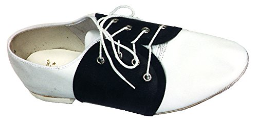 Spats Saddle Shoe (Spats Saddle Shoe Costume Accessory)