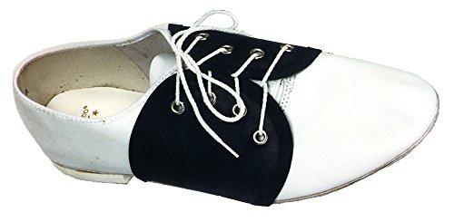 Spats Saddle Shoe Costume Accessory ()