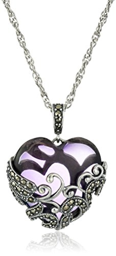 sterling-silver-oxidized-marcasite-and-gemstone-colored-glass-filigree-heart-pendant-necklace-18