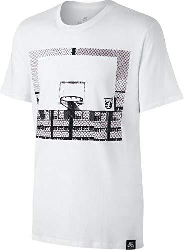 Nike Men's AF1 Photo T-Shirt XX-Large White Black ()