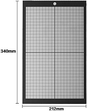 Esterilla de cortar de vinilo antideslizante A4 con cuadrícula impresa manualidades, 340 mm212 mm: Amazon.es: Juguetes y juegos