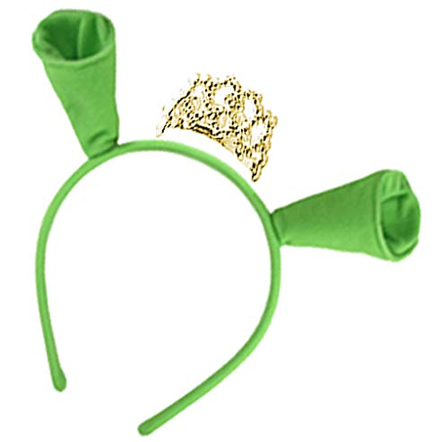 Sanctuarie Designs Fiona Accessories (No Dress) (2-Piece Ears & Crown Only) Green