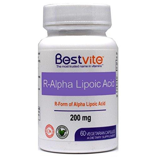 Cheap R-Alpha Lipoic Acid 200mg w Biotin (60 Vegetarian Capsules) No Stearates – No Flow Agents