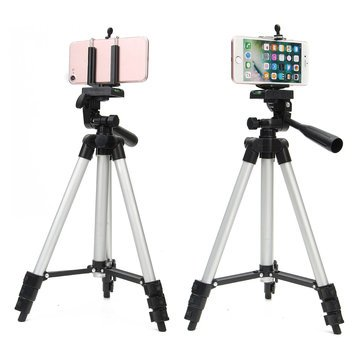 Sanjanamall Telescopic Tripod for Smartphones, Tablets and Camera