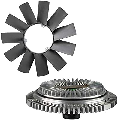 Amazon.com: TOPAZ Engine Cooling Fan Clutch + Fan Blade for BMW E36 E46 E53 E34 E32 E39 323i 325i X5 Z3 528i: Automotive