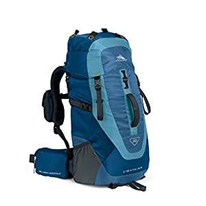 High Sierra Tech Series 59105 Lightning 35 Internal Frame Pack Pacific, Nebula, Ash 2135 Cubic Inches 24.5x13x8 Inches 35 Liters