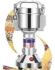 Spice Grinder, Electric Grain Mill Grinder 150g 850W Powder Machine Stainless Steel 28000RPM High Speed Pulverizer Grinding Machine for Dried Spice Coffee Grain Small Herb (150g)