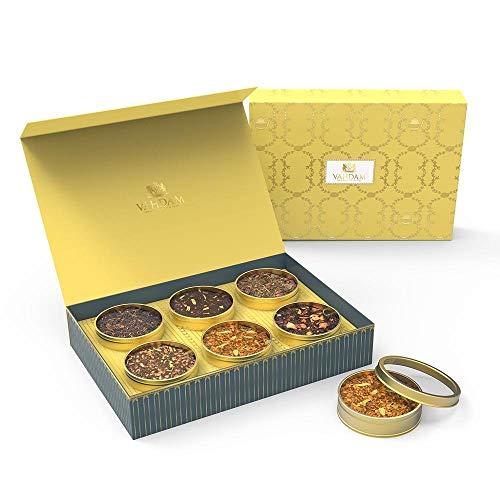 VAHDAM Assorted Tea Gift Box Set - Masala Chai Tea, Cinnamon